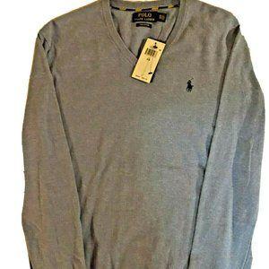 Polo RL Pima Cotton Men Long Sleeve Sweater